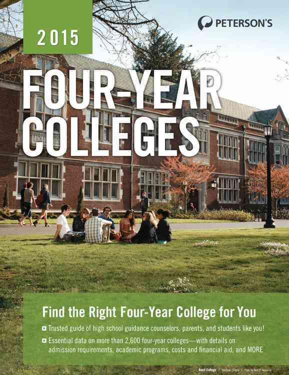 Four-Year Colleges, 2015 By Peterson's (COR)